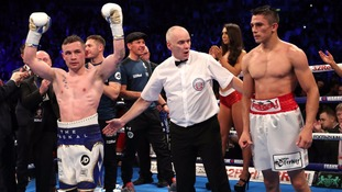 Frampton battles all the way to victory in Belfast homecoming