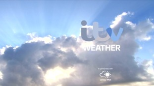 Mainly cloudy, patchy rain later.