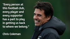 Chris Coleman announced as new Sunderland boss