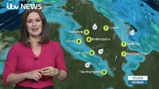East Midlands Weather: Cloudy with outbreaks of rain