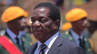 Mr Mnangagwa has been a leading government figure since Zimbabwe's independence