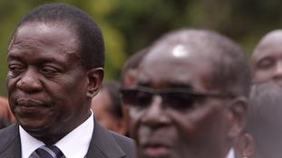 Mr Mnangagwa was for years Mr Mugabe's enforcer