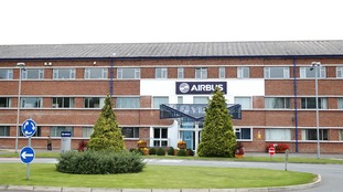 Airbus plant in Broughton