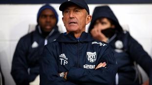 West Brom sack manager Tony Pulis