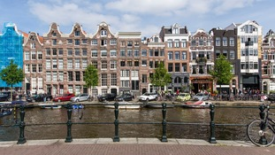 Hunt for Newcastle man who fell into Amsterdam canal