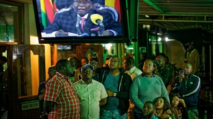 Zimbabweans were expecting Robert Mugabe to stand down in his televised statement.