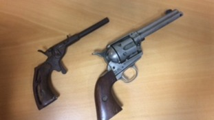 Dozens of firearms handed in to Wiltshire police