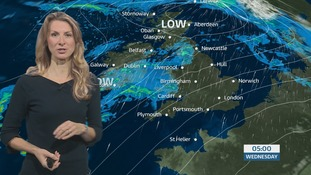 The weather this week slowly deteriorates. Sophia has the latest