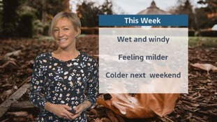 Wales Weather: Late autumn wind and rain!