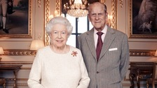 Bells ring out at abbey where Queen and Duke wed