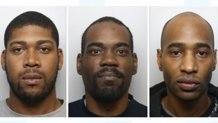 Shaquille Liddie, Kemar Ricketts and Seion Allen have been jailed.