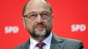 Martin Schulz of the Social Democrats party said that the 'grand' coalition had got the 'red card'.