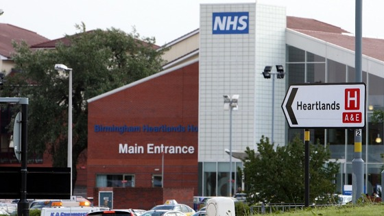 Birmingham Heartlands Hospital has been closed because of an outbreak of the winter vomiting bug Norovirus
