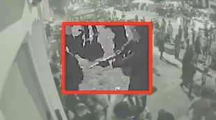 Dramatic CCTV footage shows moment man was shot in Leeds