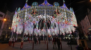 Nearly a quarter of a million visit Lumiere festival