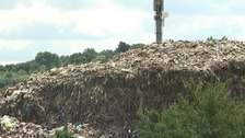 Rubbish mountain which towered over homes is cleared