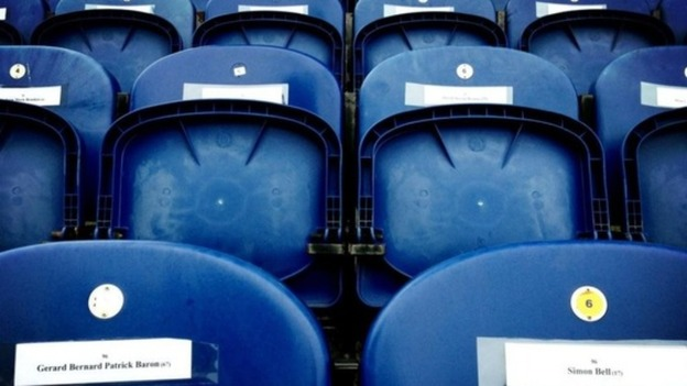 Mansfield leave 96 seats empty in remembrance of Liverpool fans who lost their lives at Hillsborough.