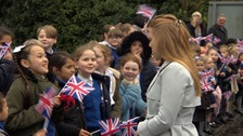 Princess Beatrice visits new children's hospice in Bury