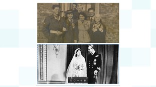 Tom and Amy Bryden married in 1947, the same year as the Queen and the Duke of Edinburgh.