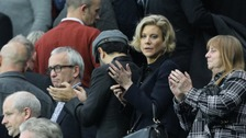 Amanda Staveley at St James' Park in October.