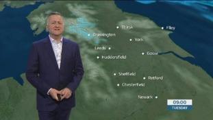 GMB weather update with Jon Mitchell