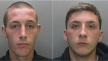Pair jailed for total of eight years for attack on man over rucksack