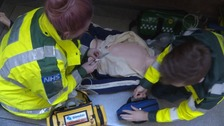 Strong demand for places on paramedic degree course