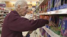 Britain's oldest supermarket worker dies aged 95