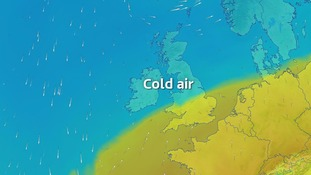Colder weather to end the week, with wintry showers on higher ground