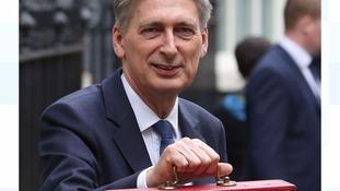 Philip Hammond red box