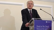 Mr Davis said the UK would be a partner to Europe 'like no other'