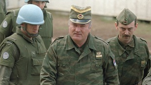 Ratko Mladic is charged with 11 counts of genocide and war crimes.