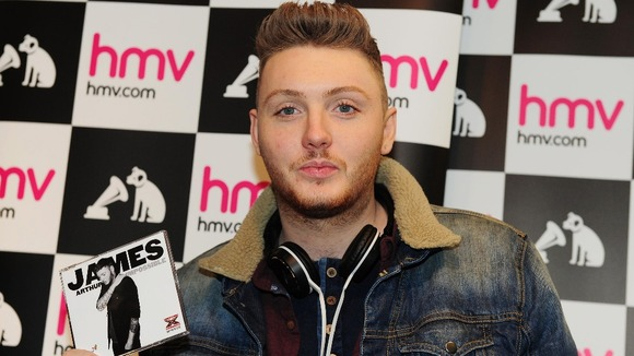 X Factor James Arthur