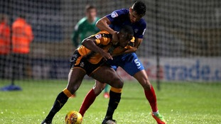 Uche Ikpeazu is set to return ahead of the game against Cheltenham