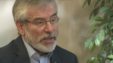 Gerry Adams says 'time is right to step aside' as leader