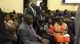 Inside Zimbabwe's parliament