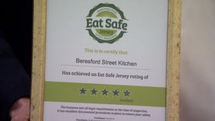 All Island eateries must show food safety rating from December