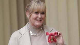 Former Coronation Street star Sarah Lancashire receives OBE