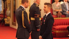 Triple World Champion Rea 'so proud' to receive MBE