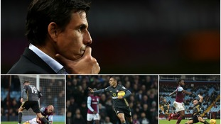 Chris Coleman's Sunderland rescue mission began with defeat as the Black Cats went down 2-1 at Aston Villa.
