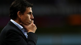 New Sunderland manager Chris Coleman during the Sky Bet Championship match at Villa Park
