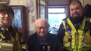 Veteran from Wakefield reunited with medals hours after they are stolen