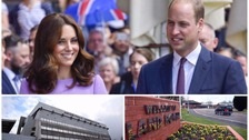 Duke and Duchess of Cambridge visiting West Midlands