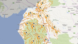 Flood alerts issued across Cumbria