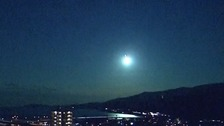 What caused this 'fireball' in the skies over Japan?