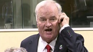 Ratko Mladic sentenced to life after being found guilty of genocide in Hague war crimes trial