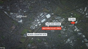 The incident happened on Midland Road in Darlaston