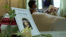 James Burke took his own life in April.