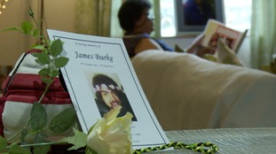 James Burke took his own life in April.