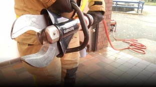 Firefighters left out of action after thieves stole lifesaving equipment